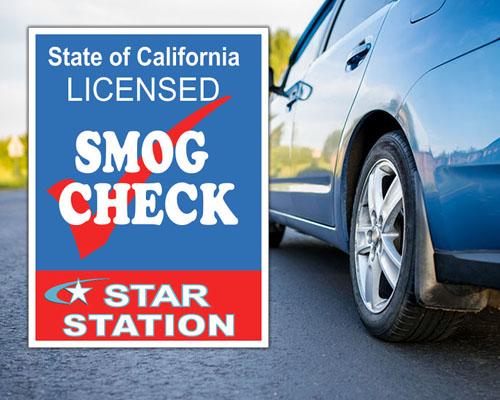 Smog Check Car